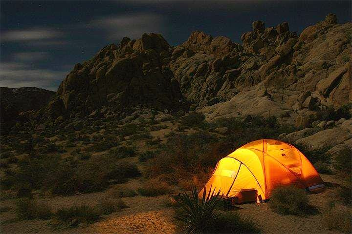 Camping in Indian Cove -...