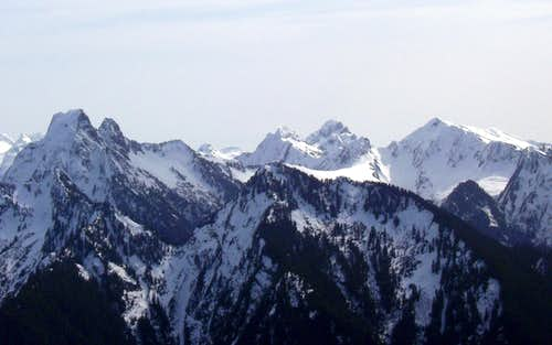 Marble Peak from Anaconda Peak - March 2010