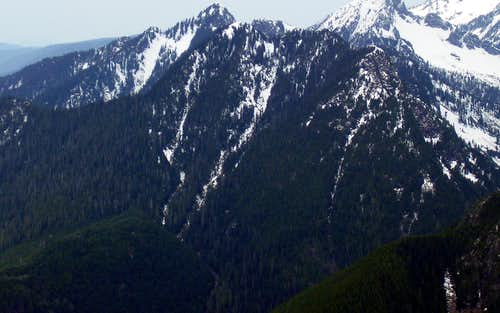 Anaconda Peak from Marble Peak