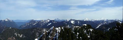 Looking NE from Anaconda Peak