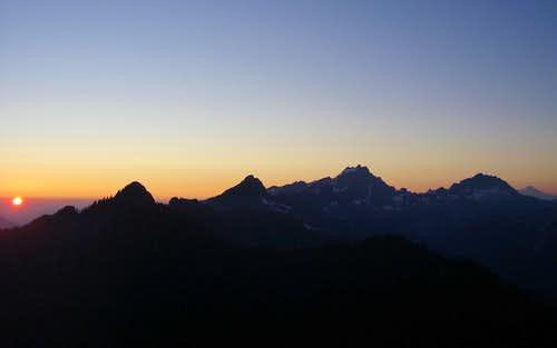 Sunset on Anaconda Peak
