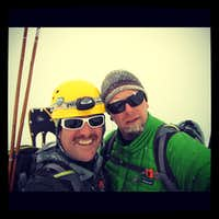 Cerro Ciento with Scottie
