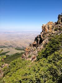Below Hayden Peak - NE