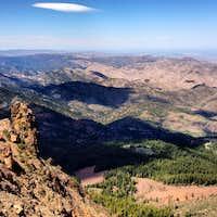 Below Hayden Peak - W