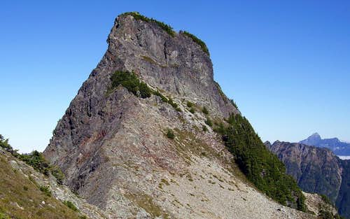 Silvertip Peak summit block