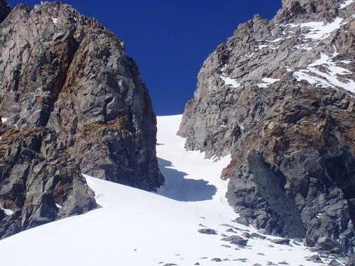 NorthEast Couloir - April 2003