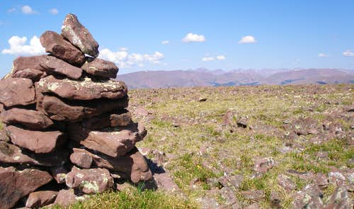 Wooley cairn