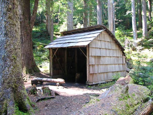 Tunnel Creek Shelter