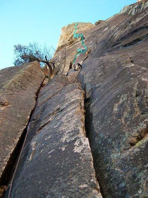 Leading P1 of Ginger Cracks...