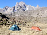 Mt. Kenya from Shiptons camp