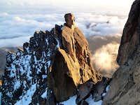 Batian west ridge