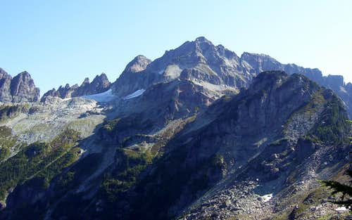 Columbia Peak route photo #1