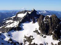 Columbia Peak from Cadet Peak