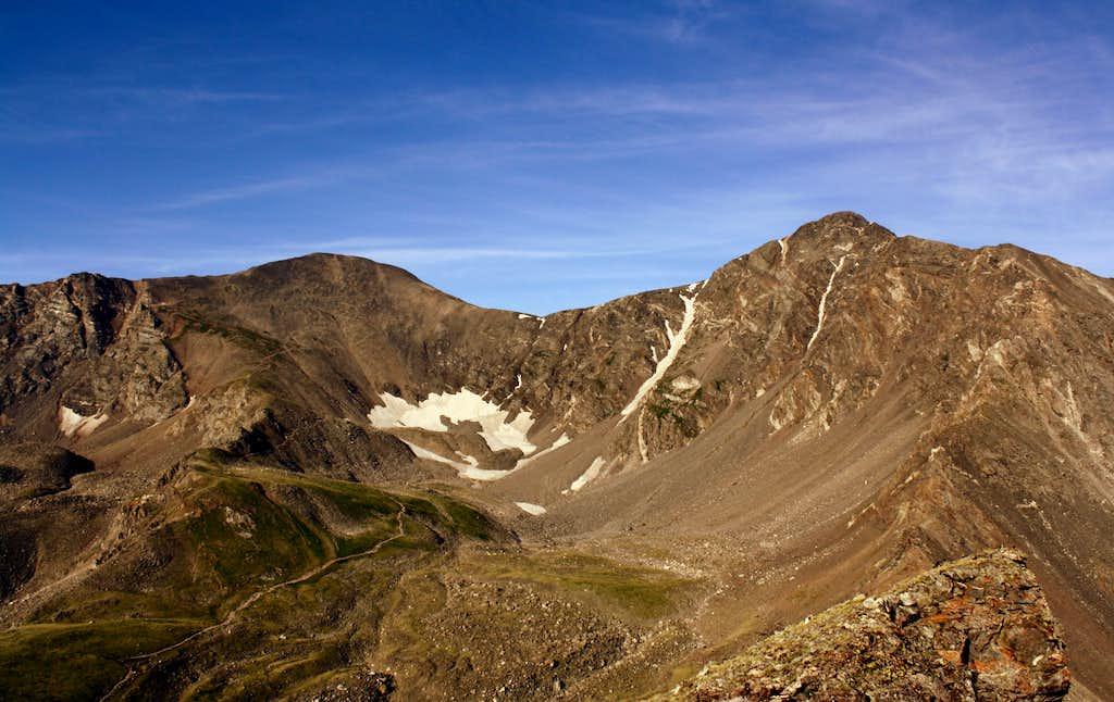 Torreys and Greys Peaks