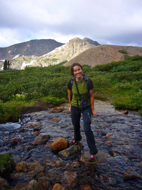 On the way to South Arapaho peak