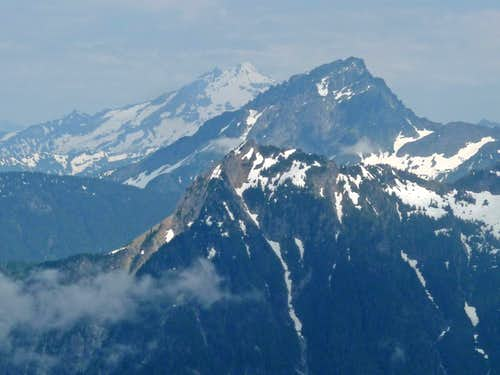 Glacier Peak and Sloan Peak