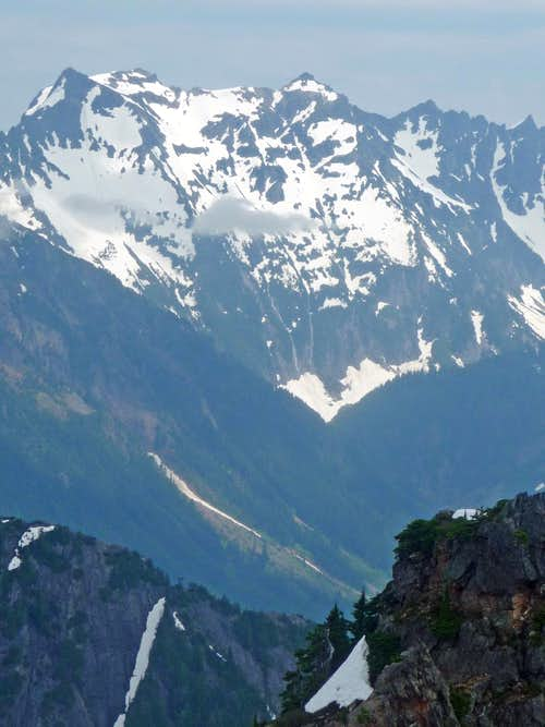 Cadet Peak s West Face
