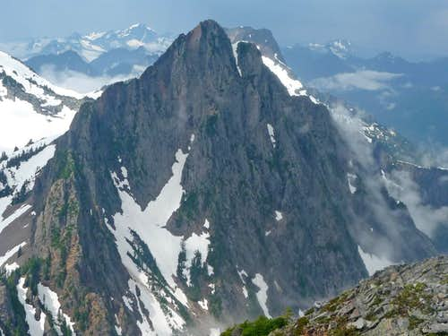 Sperry Peak's South East Face