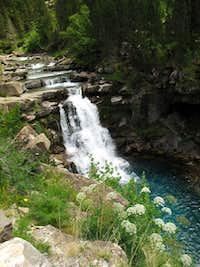 Ordesa Valley Waterfall