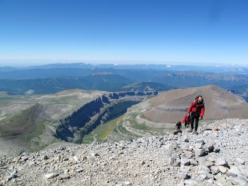 Monte Perdido In July