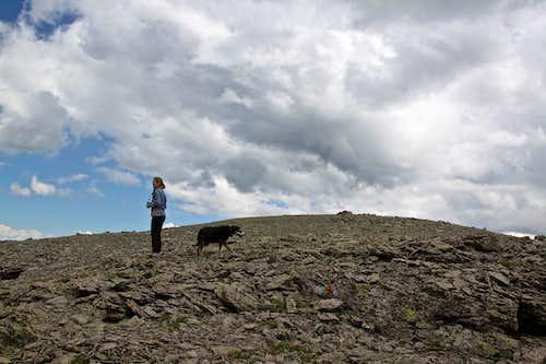 Potosi's large summit