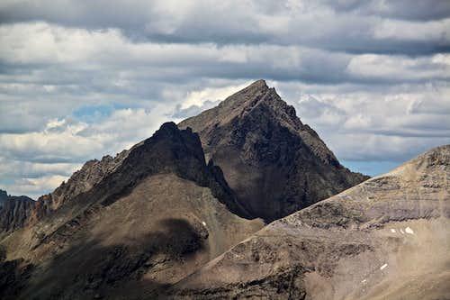 Couds over Mount Sneffels