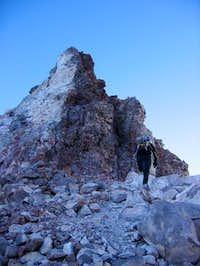 Last mound to climb!