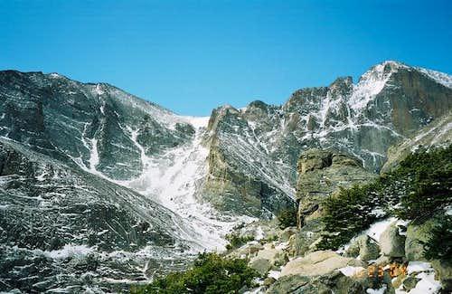 Mt Meeker and Longs Peak...