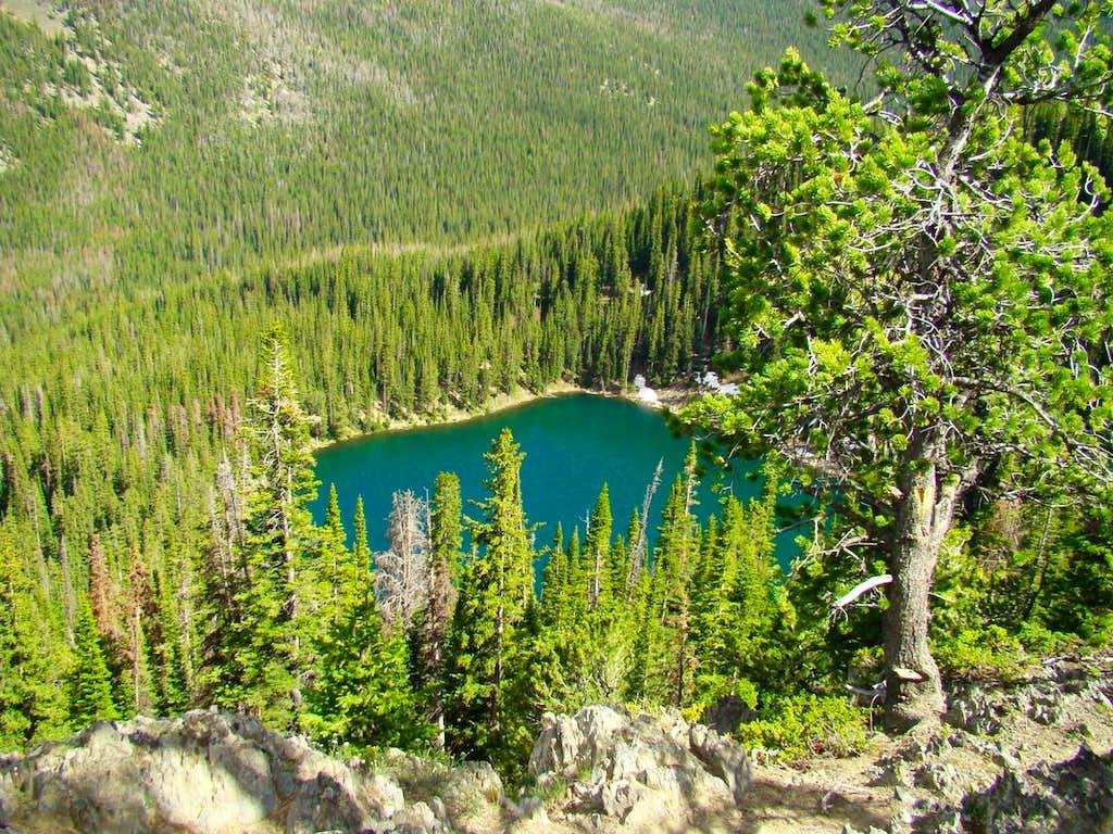 Crater Lake Wyoming
