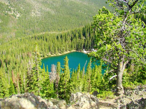 Crater Lake Wyoming
