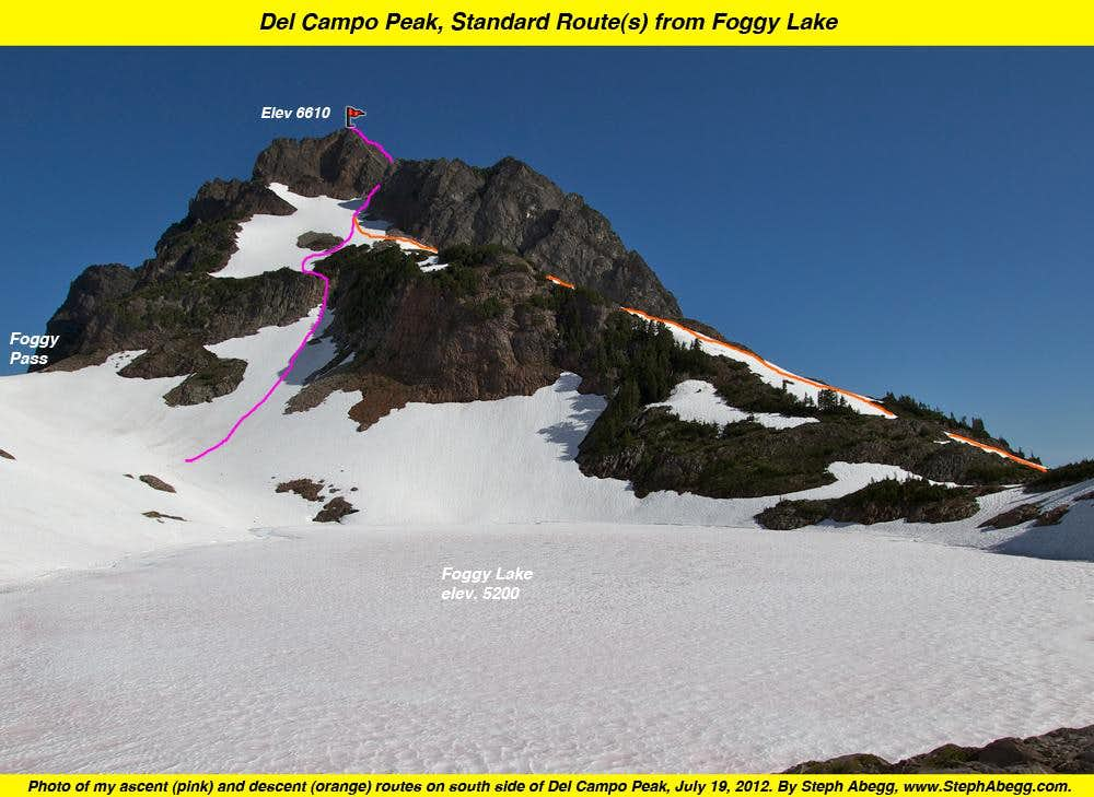Gothic Peak and Del Campo Peak, Retracing my parents\' bootsteps