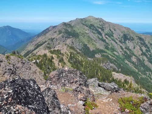 Mount Townsend from the summit