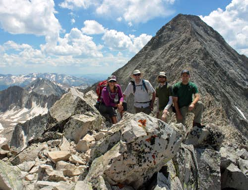 Hiking group at K2