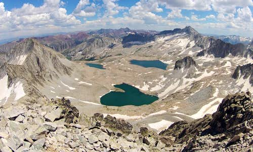 Pierre Lakes Basin