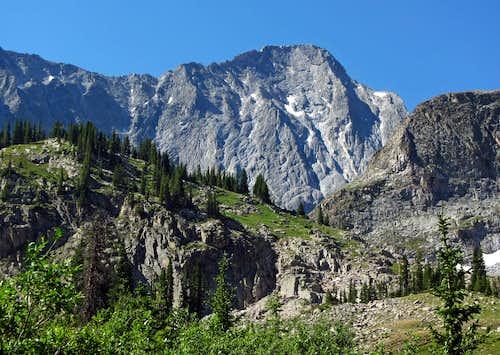 Capitol Peak from below Capitol Lake
