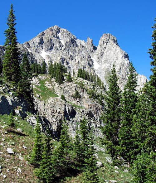 Un-named Peak west of Capitol Creek Trail