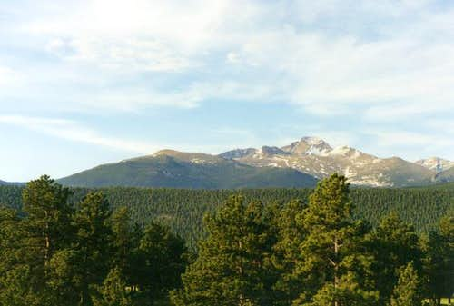 The Longs Peak Massif from...