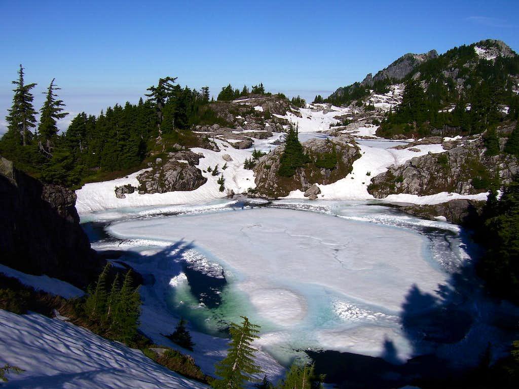Bathtub Lakes on Mt. Pilchuck