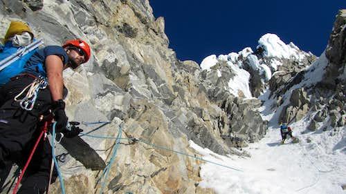 Waddington via the Bravo Glacier