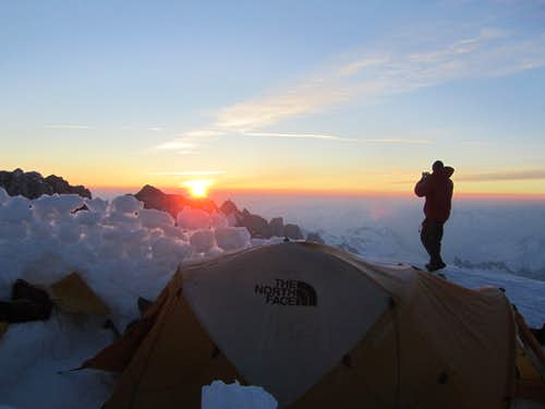 High Camp on the Wadd