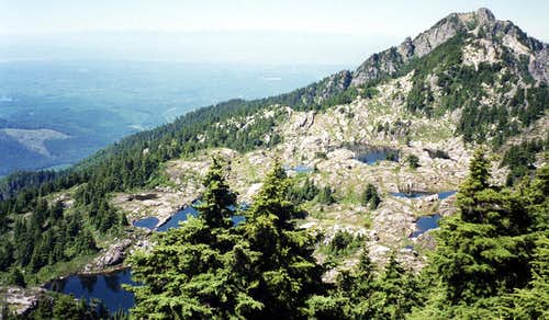 Bathtub Lakes on Mt. Pilchuck