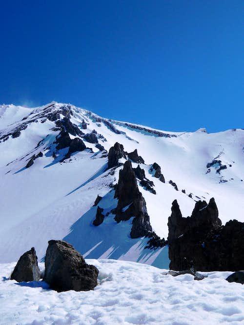 Casaval Ridge Solo Climb