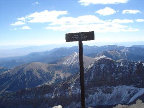 That\'s Baker Peak to the...
