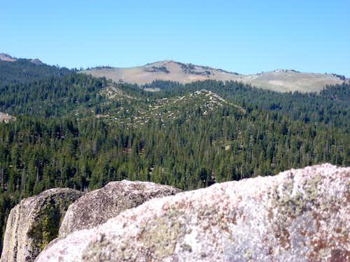 Snow Valley Peak 9,214' from Peak 8205