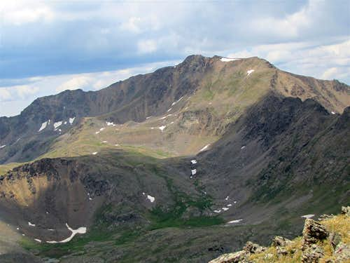 NE face of Petroleum Peak