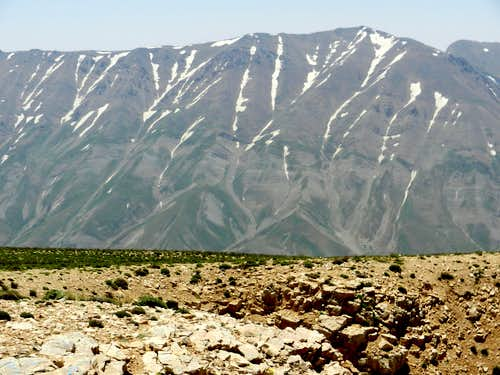 Looking SSE (Mt. Gharehdagh)