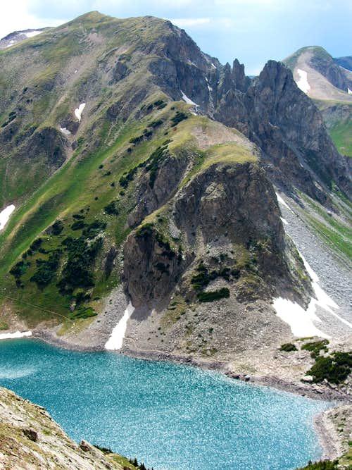 Peak north of Capitol Lake
