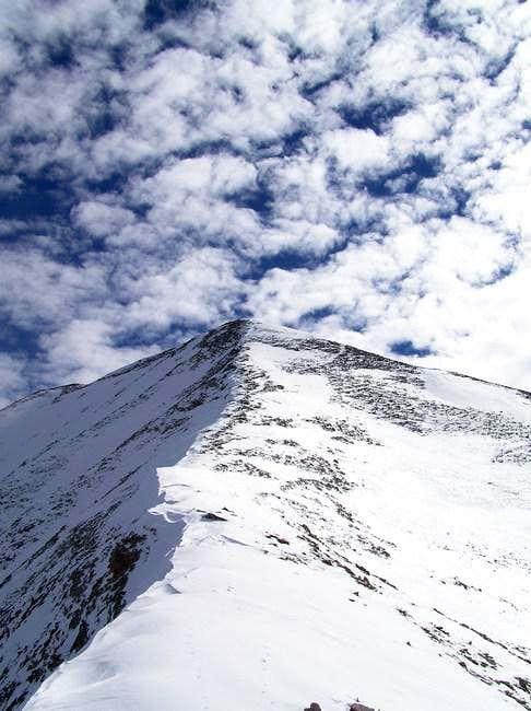 7 Nov 2004 - The final ridge...