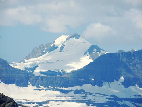 Blackfoot Mountain and Glacier