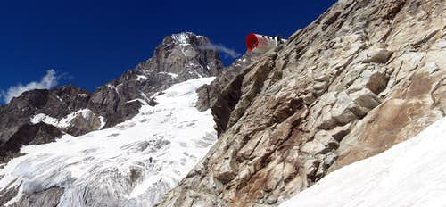Grandes Jorasses east face.